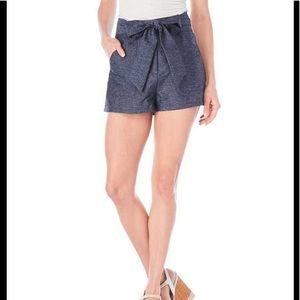 Jealous Tomato Blue High Waist Shorts Sz L